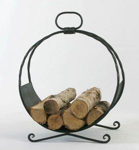 Obrázek z Kovaný koš na dřevo BALÓN